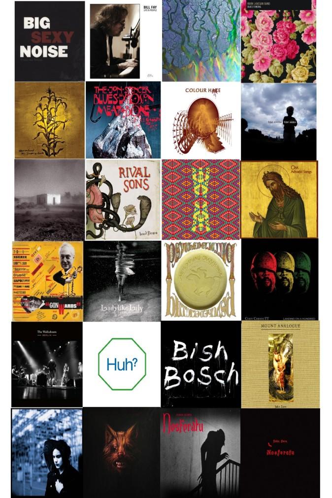 i migliori album del 2012. per il Sourtoe Coctail Club png