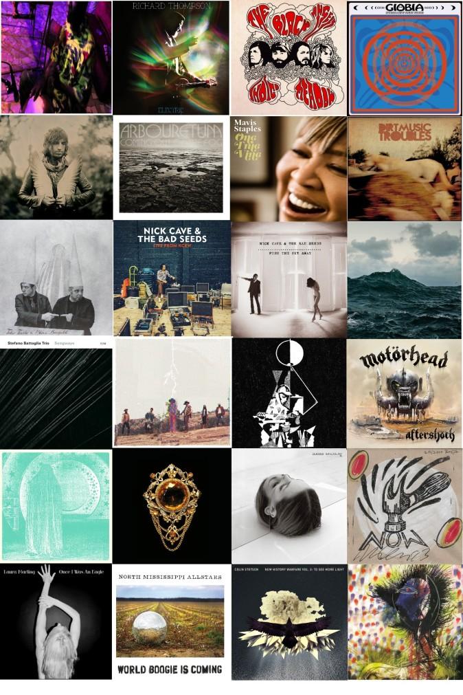 i migliori dischi del 2013 per il Sourtoe Cocktail Club-schede