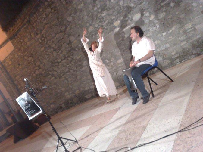 Domitilla Colombo e Danilo Caravà in Pater Incertus