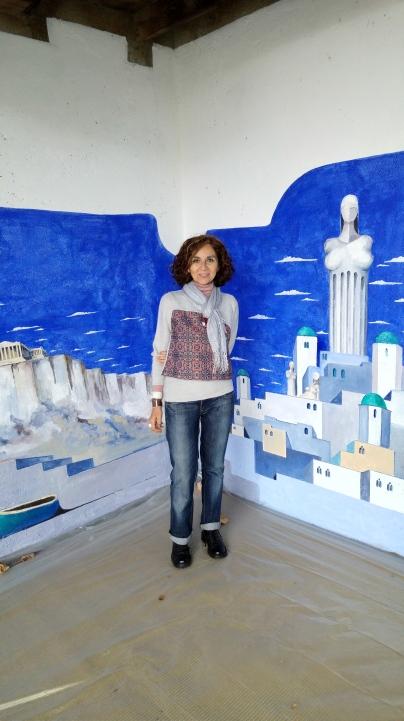 Maya la testimone velata atelier di Carlo Brenna