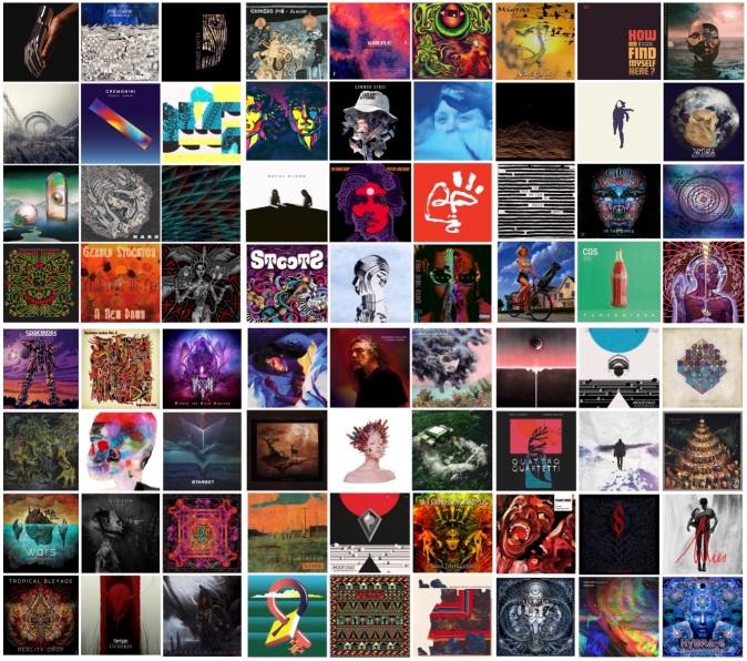 le copertine più belle degli album del 2017