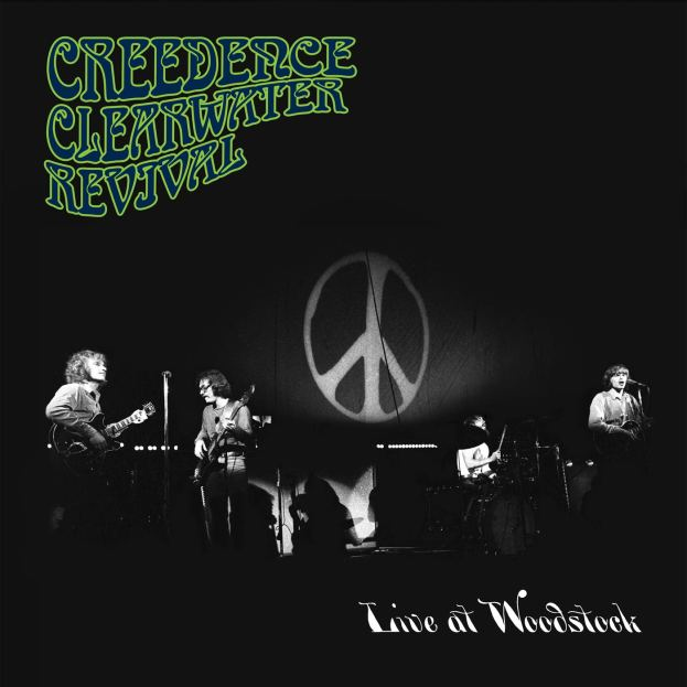 CREDEENCE CLEARWATER REVIVAL - Live at Woodstoock
