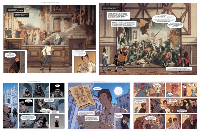graphic novel tintoretto