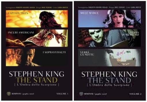 the stand graphic novel vol 1 e 2